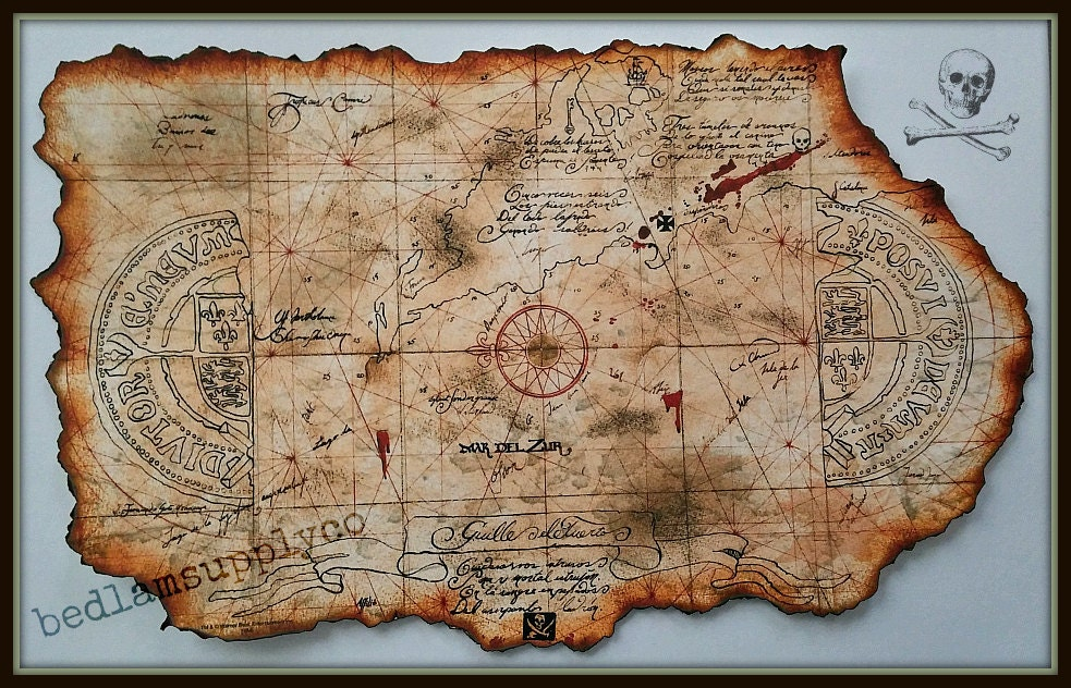 Ridiculous image throughout printable treasure maps