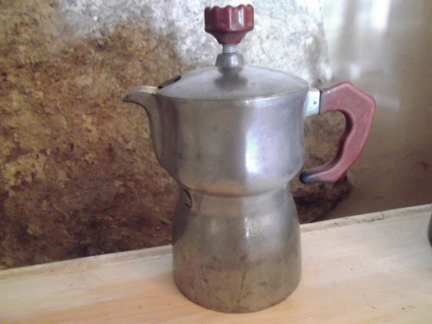 Antique Italian Coffee Maker : antique ITALIAN ESPRESSO MAKER barista kitchenalia