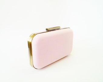 blush clutch, bridesmaid gift, blush weddings, bridal accessories, blush bridesmaids clutch, blush bridesmaid gifts, blush bridesmaids, gold