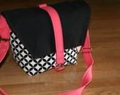 NEW-Camera bag-Digital SLR camera bag-Dslr camera case-purse-womens camera bag-extra bonus-strap cover-Sweet Punch