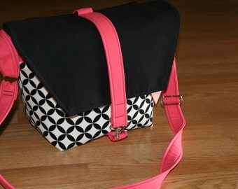 NEW-Camera bag-Digital SLR camera bag-Dslr camera case-purse-womens camera bag-extra bonus-strap cover-Sweet Punch