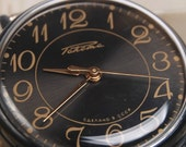 RAKETA - Russian Soviet Era WristWatch New NOS Never Used for Black FANs USSR