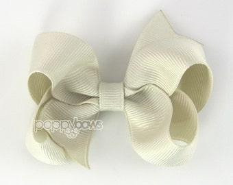 Hair Bow - Stone hair bow - girls hair bows - toddler hair bows - toddler hairbow - baby hair bow - 3 inch bows - girl bow - boutique bows
