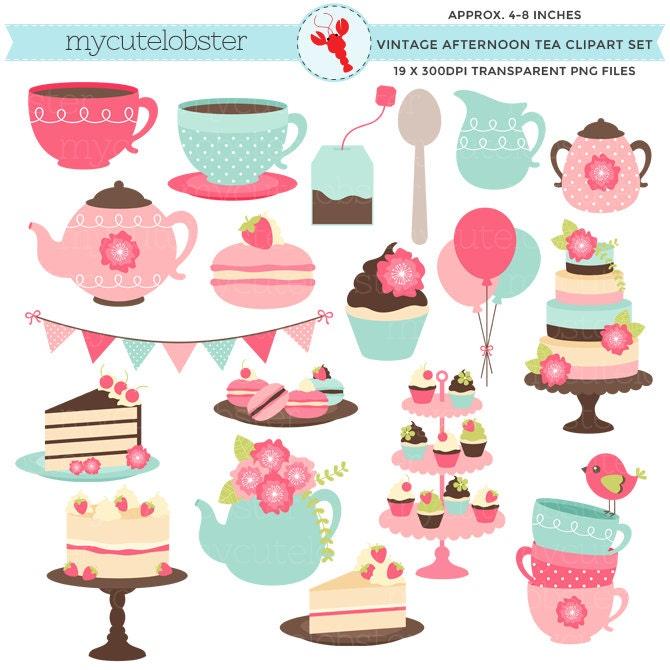 clipart tea party invitation - photo #49
