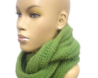 Instant Download PATTERN ONLY Loom Knit Chunky Cowl and Infinity Scarf Pattern permission to sell finished products