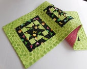 Margarita Table Runner-Reversible-Free Shipping to US and Canada