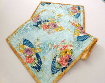 Asian Fan Table Runner-Free Shipping to US and Canada