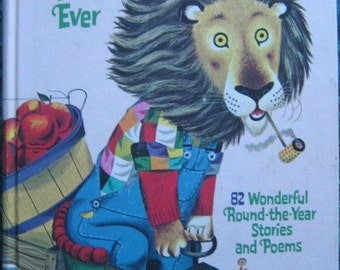 Richard Scarrys Best Story Book Ever 1969 Second Printing