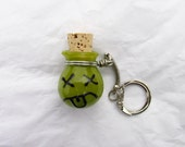 Mood Jar Small Glass Jar Keychain - READY TO SHiP