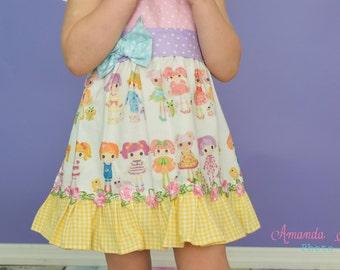 Lalaloopsy sweet as sugar girly dress