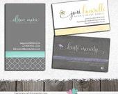 Business Card Design Magnet Design Custom card design to match your premade or custom logo design Magnet Single Side Door Tag