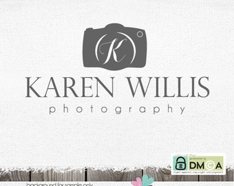Photography Logos  - Premade Logo Design  - photography logos and watermarks - Camera Logo Watermark Design - logos for photographers