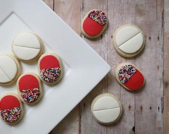 Pill Cookies - 24 - Two Dozen
