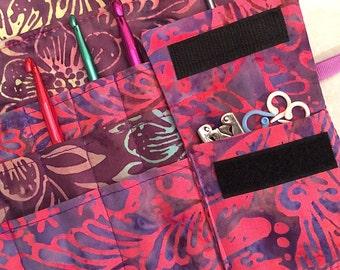Circular Needle Case/DPN Case/Crochet Needle Case