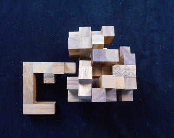 Ramube Octahedron - A VERY CHALLENGING wood puzzle