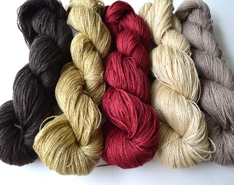 Cashmere Ramie knitting weaving warp crochet yarn
