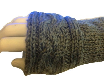 Claire's Inspired PDF Pattern Claire's Arm Warmers  Fingerless Gloves # 1 Sassenach Knitting Pattern PDF File not a finished product