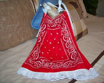 Bandana Dress  Size 2-4