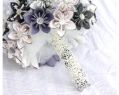 Origami Bridal Bouquet- Custom Orders Available- Example Only