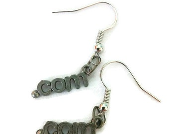 "Internet "".com"" Earrings"