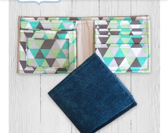 The Gentleman's Wallet PDF sewing pattern by Mrs H Men's wallet