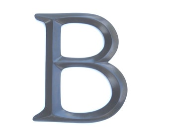 "Letter ""B"" Sign - Large Letter B Wall Decor - Gallery Wall Decor - Photo Prop - Anniversary Gift SIB70"