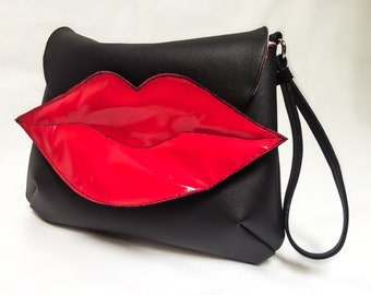 Red Lips Clutch