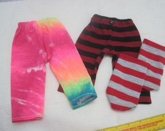 Waldorf doll clothes, leggings and socks