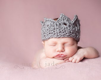 Baby Crown Prop, Newborn Photo Shoot Prop
