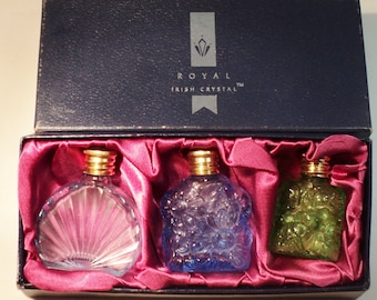 Perfume Bottles Miniatures - Vintage Three to a Box