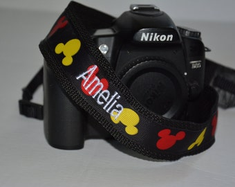 Personalized DSLR Camera Strap