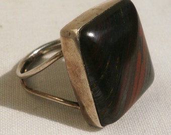 Vintage Sterling Silver Man's Ring-Size 8