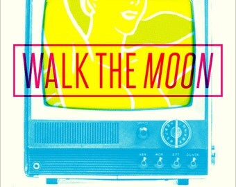 Walk The Moon 2015 18 x 24 Screen Printed Show Poster