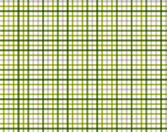 Military Max Plaid in Green, Bella Blvd, Stephanie Hunt, Riley Blake Designs, 100% Cotton Fabric, C4374-GREEN