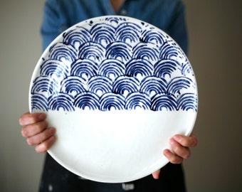 Large plate - Cheese plate - Serving plate / Plateau de fromage - plateau de service