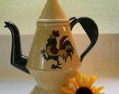 POPPYTRAIL, Vintage Coffeepot