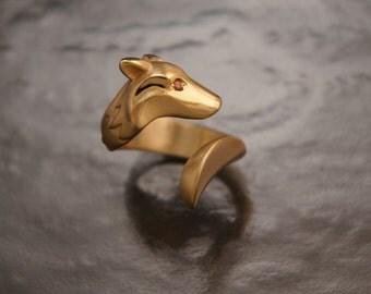 timber wolf . bronze. diamond eyes