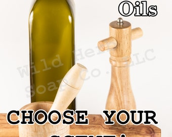 ESSENTIAL OILS, 4 oz size - Pure, Organic, CHOOSE your scent! Top Grade
