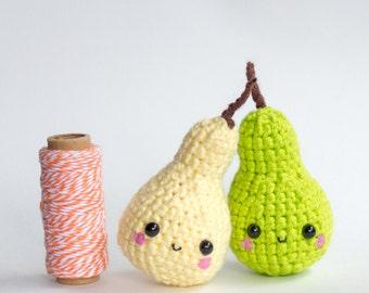 Plush Pear Gift Set