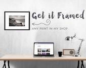 Framed Art - Pick Any Photo in My Shop - Framed Wall Art, Framed Print, Large Wall Art, Oversized Art - Ready to Hang