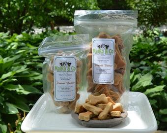 Peanut Butter Dog Treats - Mini - 1/2 Lb