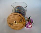 Yarn Jar with Laser Engraved Lid