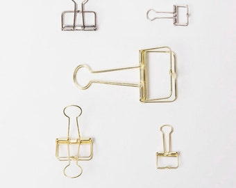 Binder clips Journal Paper Binder Clips/AC012