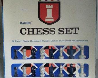 1967 Hasbro Chess Set