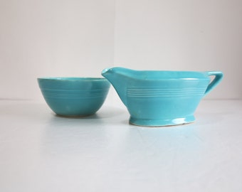 vintage turquoise pottery