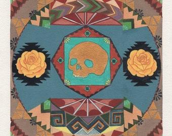 SALE!!! Untitled (skull pattern#2)