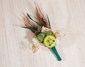 One of Kind READY TO SHIP Hops Boutonniere Bell's Beer Hop Slam Ale