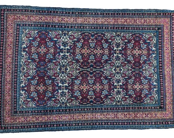 DISCOUNTED 3x5 Antique Isfahan Rug