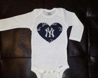New York Yankees Onesie