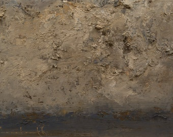 Darkening — Original Oil Painting, Landscape Painting, Abstract Landscape, Original Painting, Abstract Oil Painting, Fine Art, 5 x 7